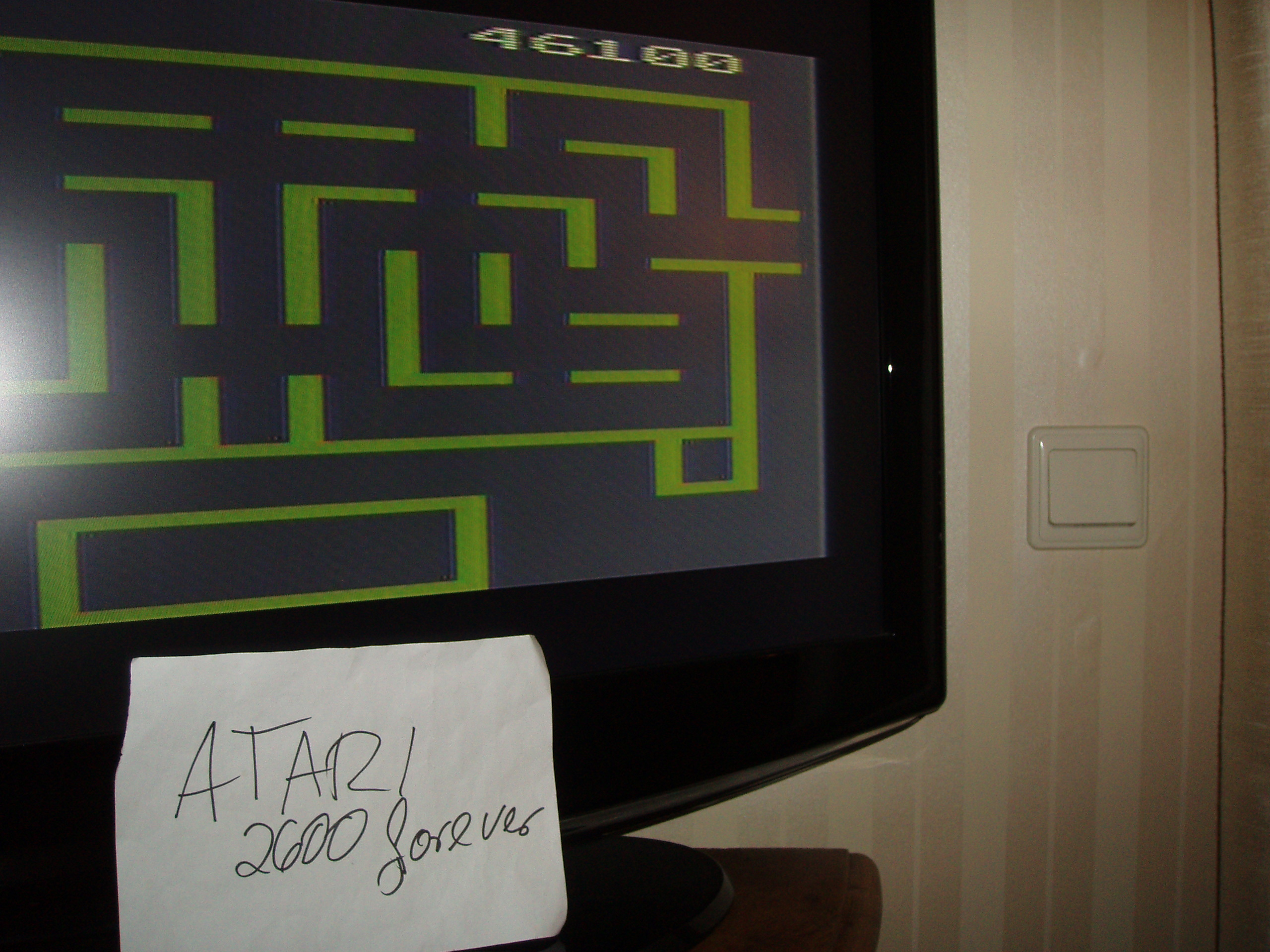 atari2600forever: Wizard of Wor (Atari 2600 Novice/B) 46,100 points on 2018-06-18 03:24:52