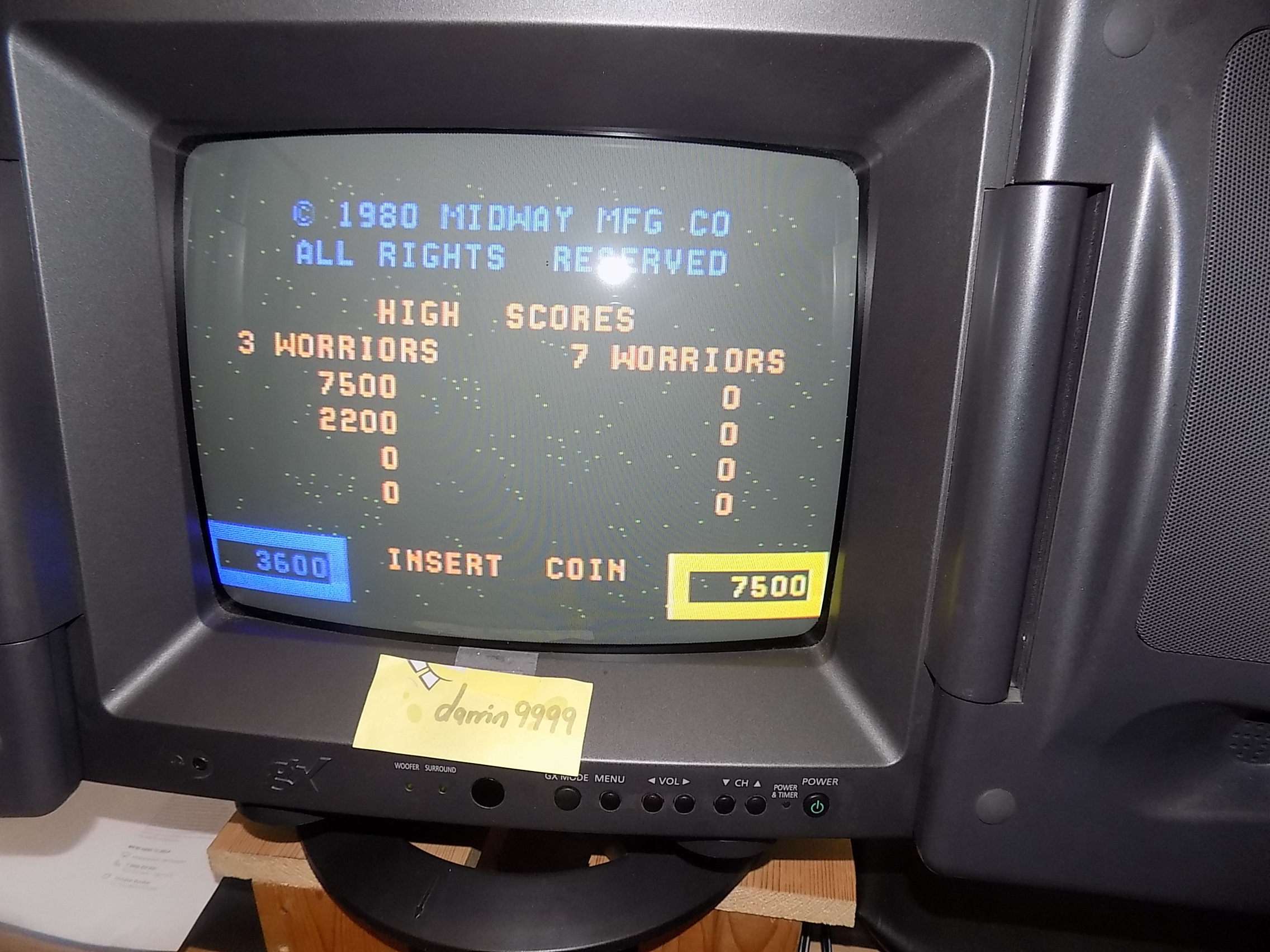 darrin9999: Wizard of Wor (Colecovision) 7,500 points on 2018-03-20 15:25:31