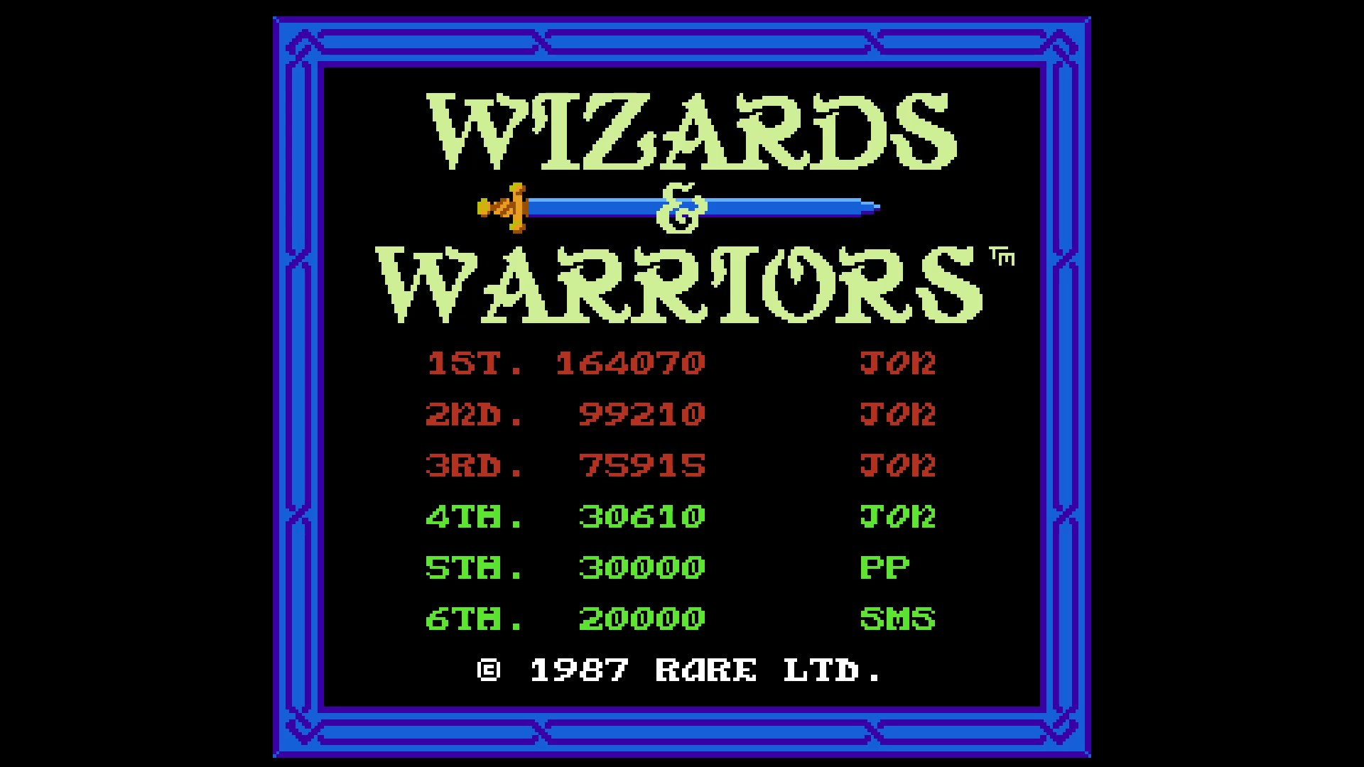 AkinNahtanoj: Wizards & Warriors (NES/Famicom Emulated) 164,070 points on 2020-09-28 16:07:30
