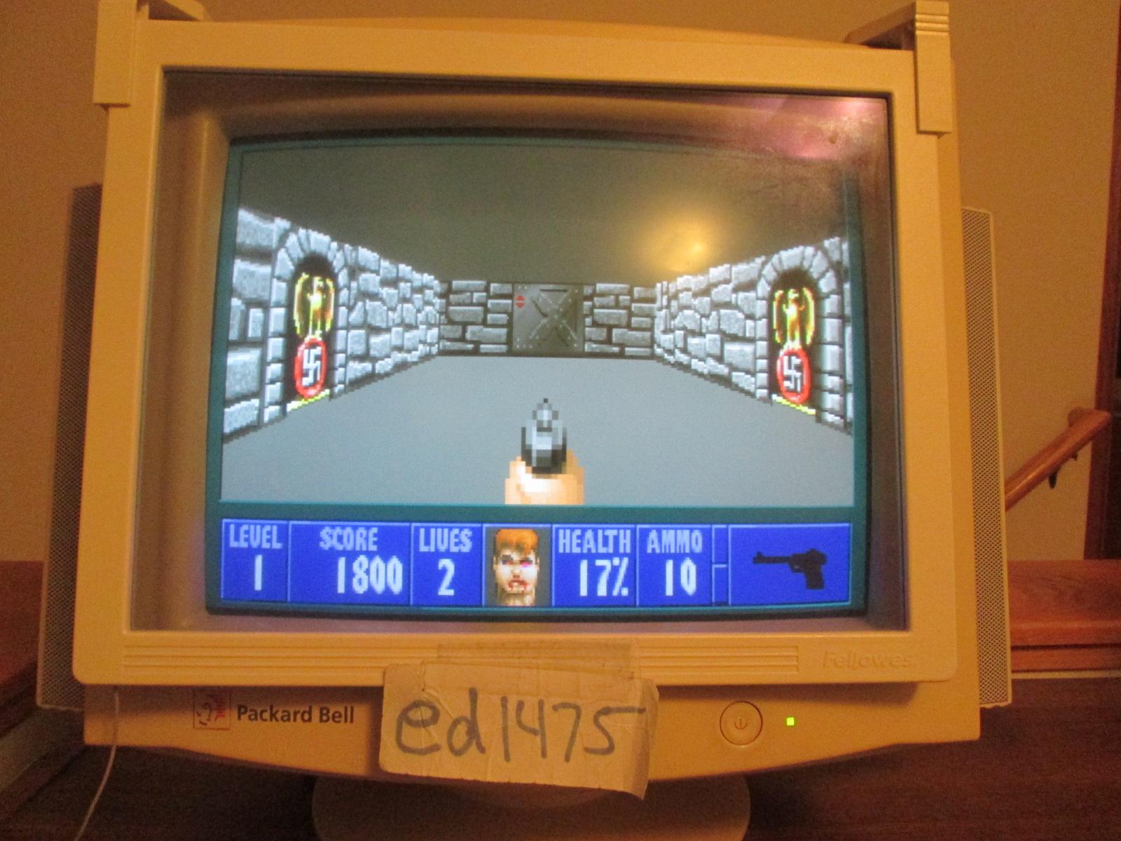 ed1475: Wolfenstein 3D: Episode 3: Die, Fuhrer, Die! [Bring