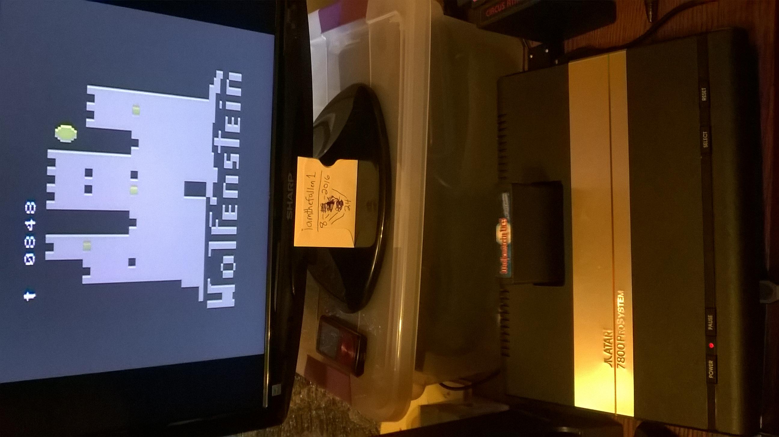Wolfenstein VCS 848 points
