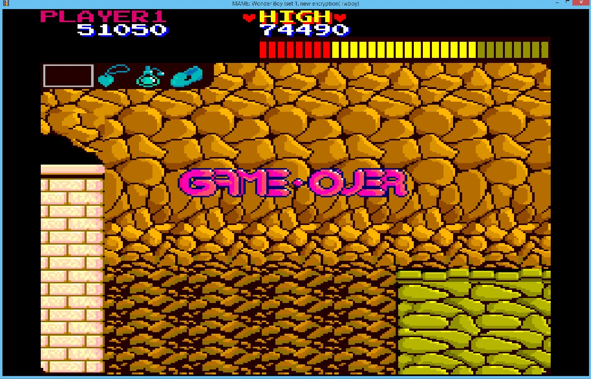 lenny2571: Wonder Boy (Arcade Emulated / M.A.M.E.) 51,050 points on 2015-11-22 03:22:19