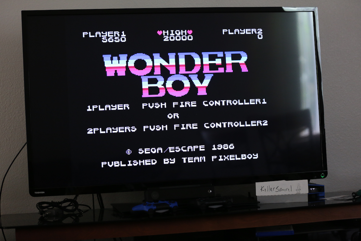 killersquirel: Wonder Boy (Colecovision) 5,650 points on 2016-07-03 14:48:16