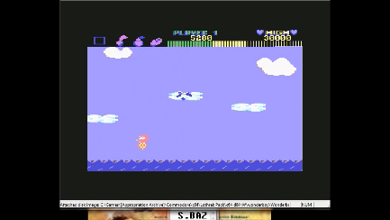 S.BAZ: Wonder Boy (Commodore 64 Emulated) 5,280 points on 2019-08-01 14:53:58