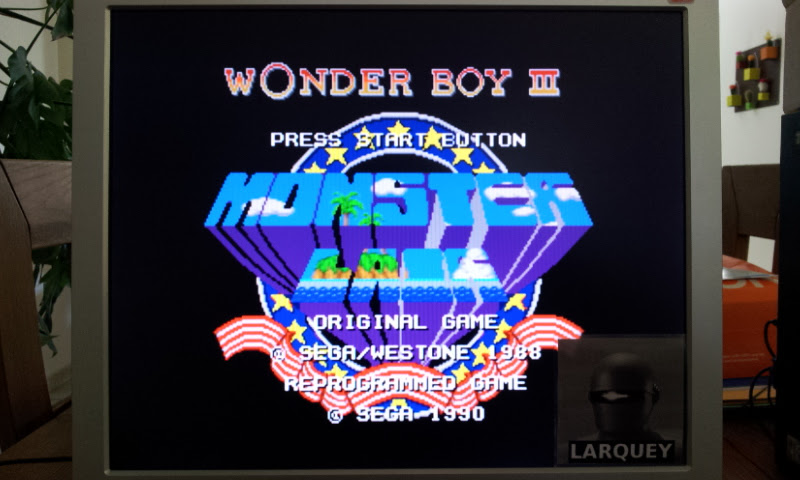 Larquey: Wonder Boy III : Monter Lair [Average] (Sega Genesis / MegaDrive Emulated) 86,720 points on 2017-04-23 07:59:28
