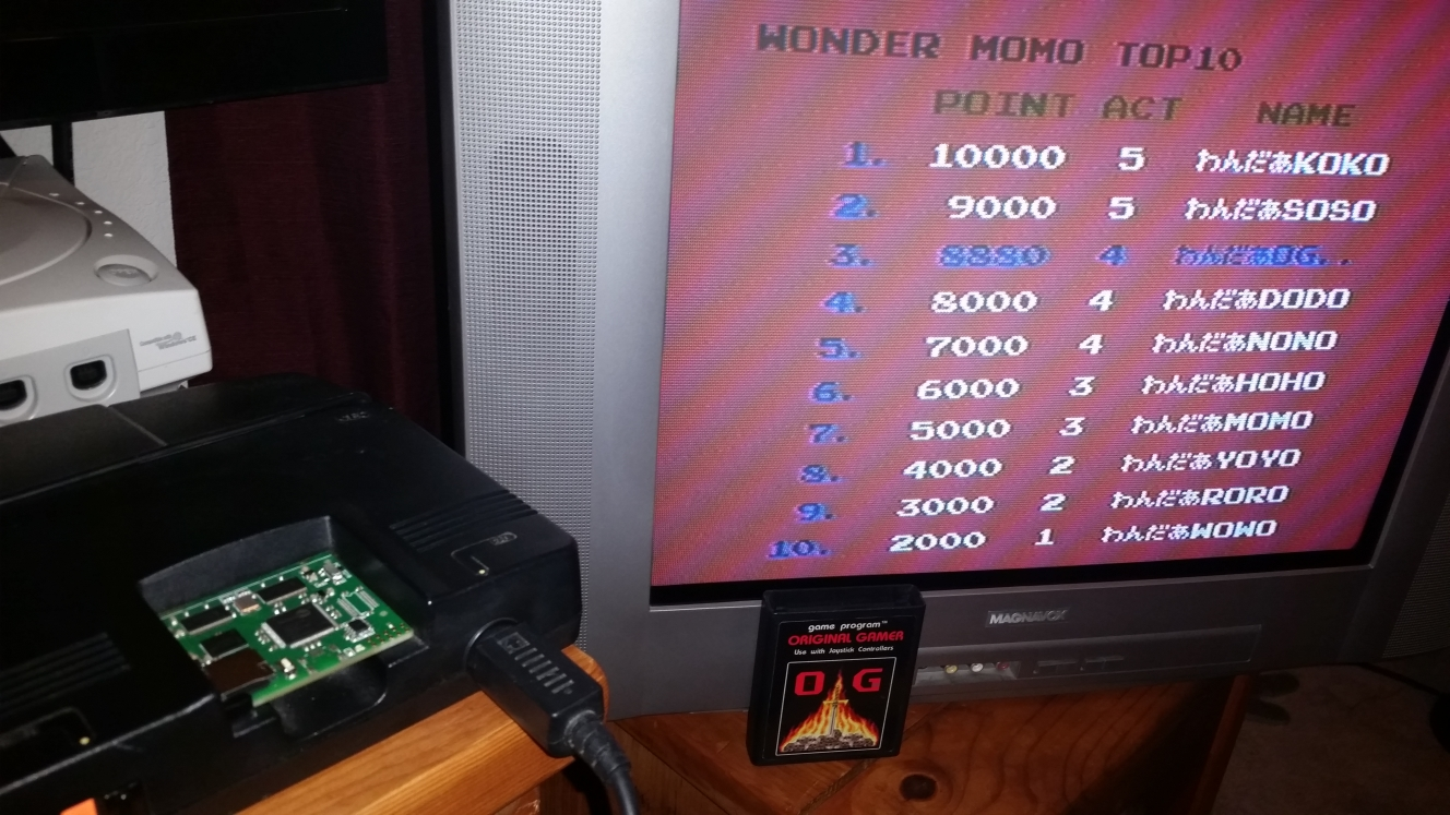 OriginalGamer: Wonder Momo (TurboGrafx-16/PC Engine) 8,880 points on 2016-04-30 16:03:15