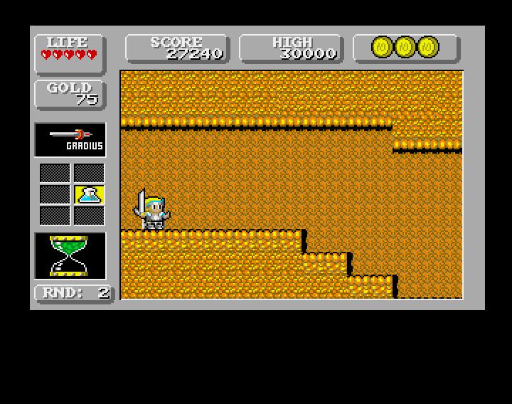 GAMES: Wonderboy In Monsterland (Amiga) 31,927,464 points on 2019-12-21 07:14:22