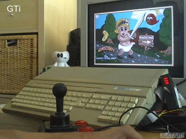 GTibel: Wonderboy in Monsterland (Atari ST) 55,860 points on 2017-07-15 02:26:32