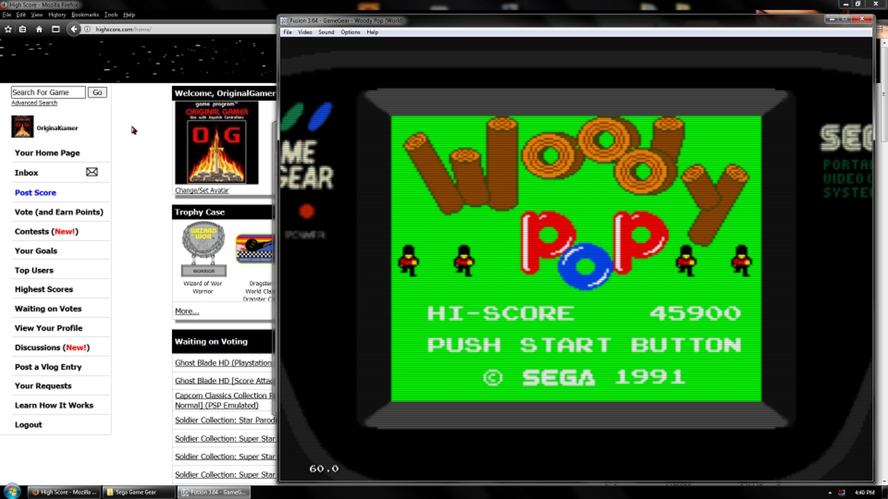 OriginalGamer: Woody Pop (Sega Game Gear Emulated) 45,900 points on 2018-03-15 17:13:18