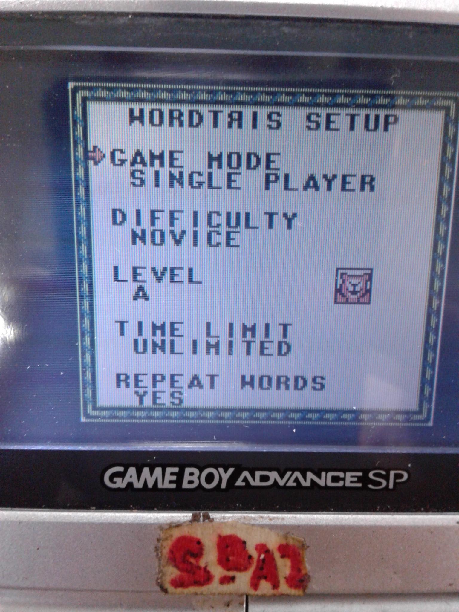 S.BAZ: Wordtris [Novice] (Game Boy) 22,708 points on 2019-11-23 15:51:56
