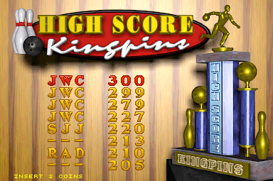 World Class Bowling Deluxe [wcbowldx] [Regulation] 300 points