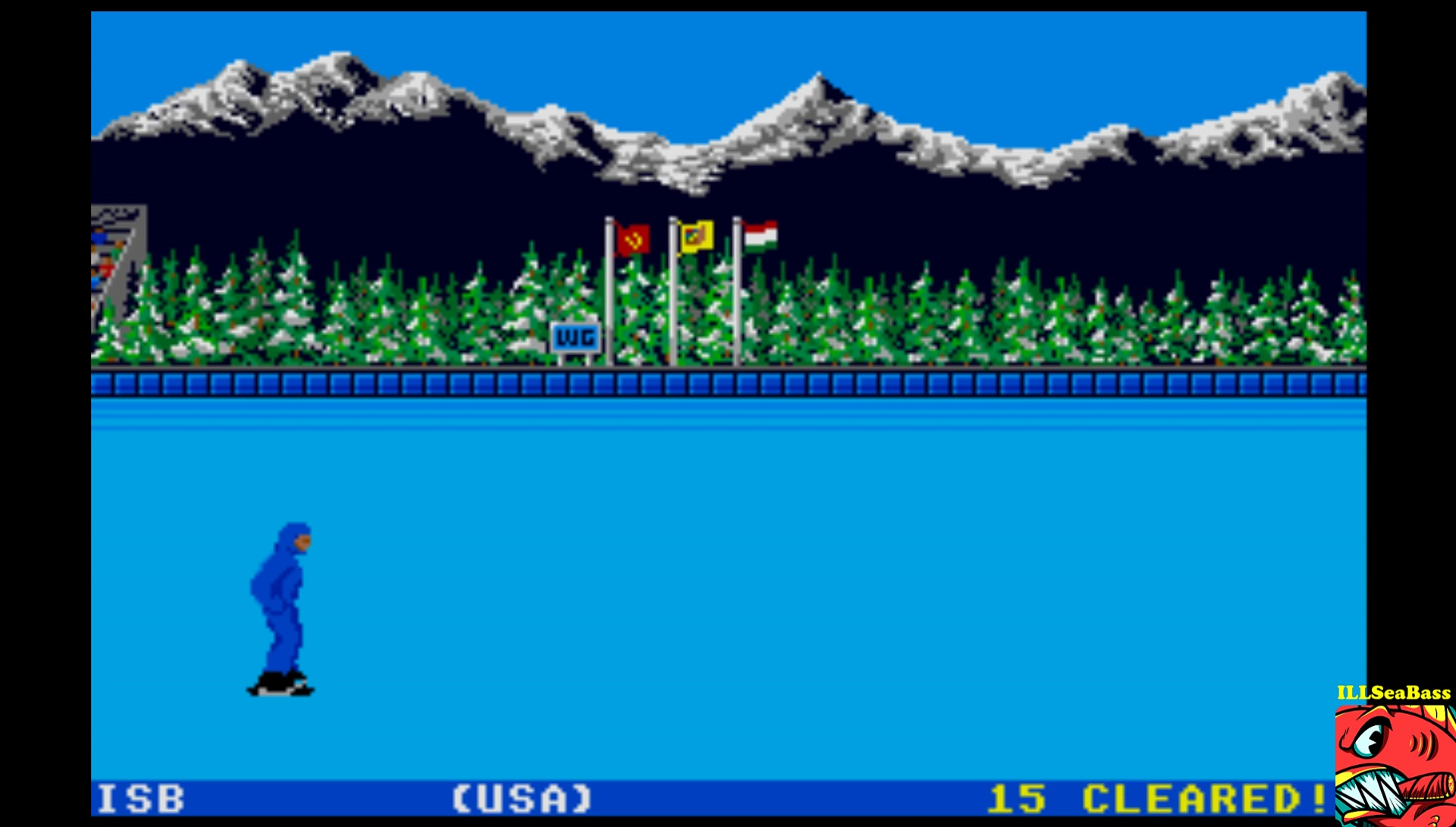 ILLSeaBass: World Games: Barrel Jumping [Barrels cleared] (Atari ST Emulated) 15 points on 2017-03-26 15:11:30