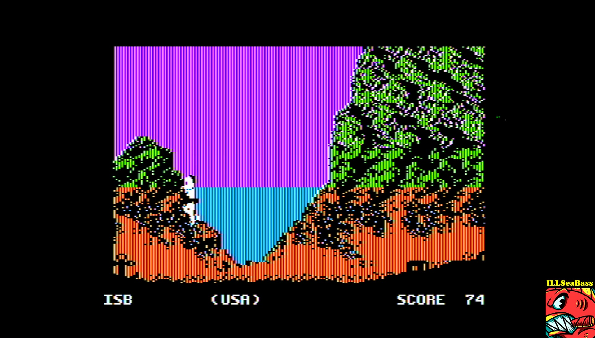 ILLSeaBass: World Games: Cliff Diving (Apple II Emulated) 74 points on 2017-03-26 14:38:52