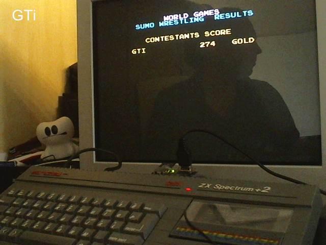 GTibel: World Games [Sumo Wrestling] (ZX Spectrum) 274 points on 2017-08-26 12:08:48