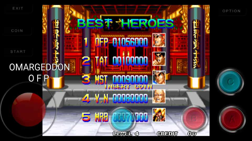 omargeddon: World Heroes 2 (Neo Geo Emulated) 1,056,000 points on 2016-11-30 14:07:45