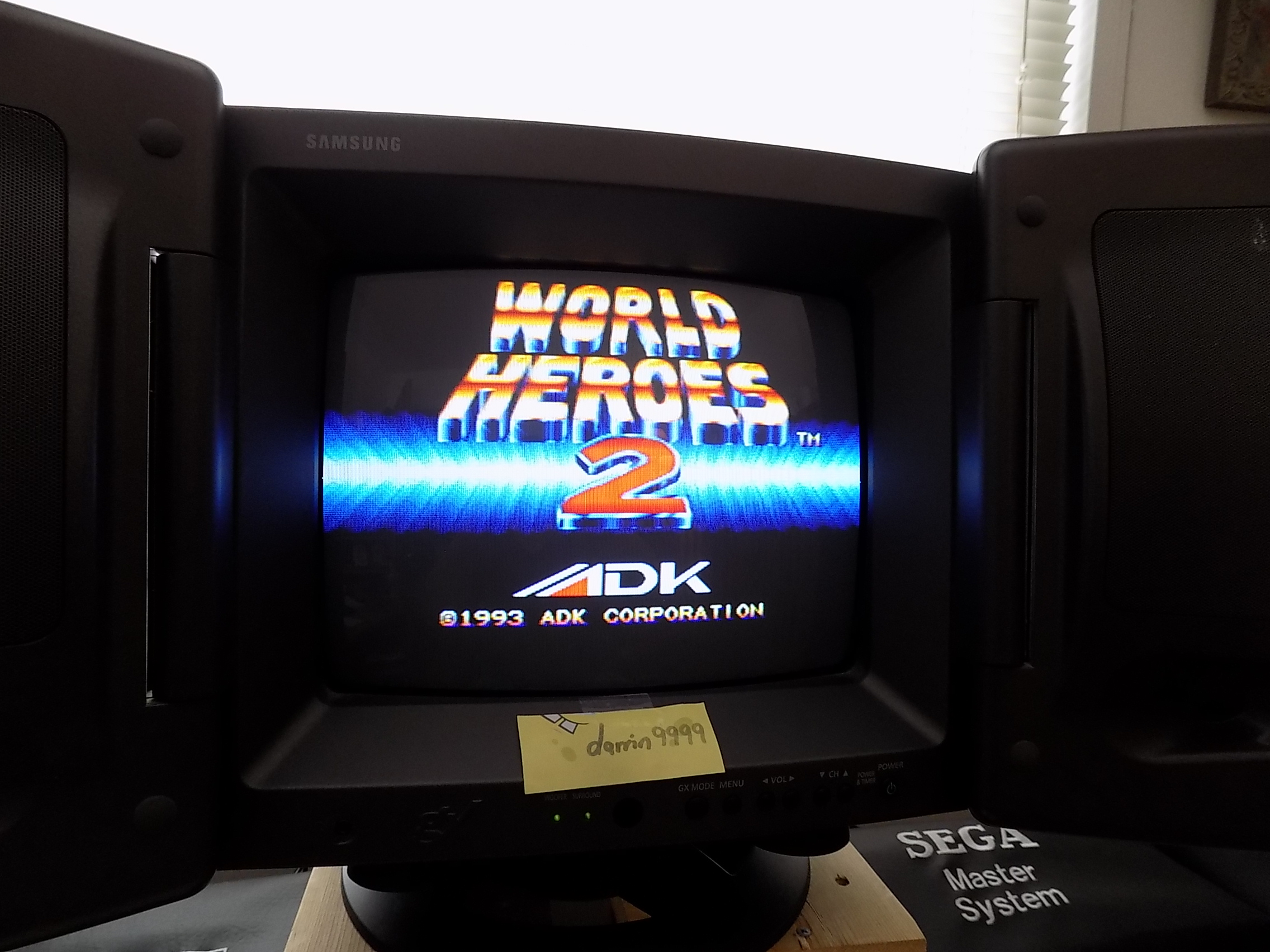 darrin9999: World Heroes 2 (Neo Geo) 1,500 points on 2018-02-28 18:13:58