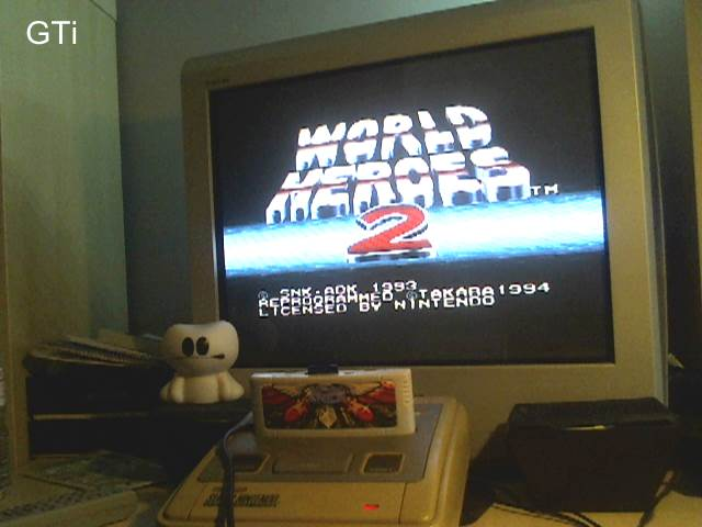 GTibel: World Heroes 2 [Normal] (SNES/Super Famicom) 1,370,900 points on 2016-11-19 07:43:40
