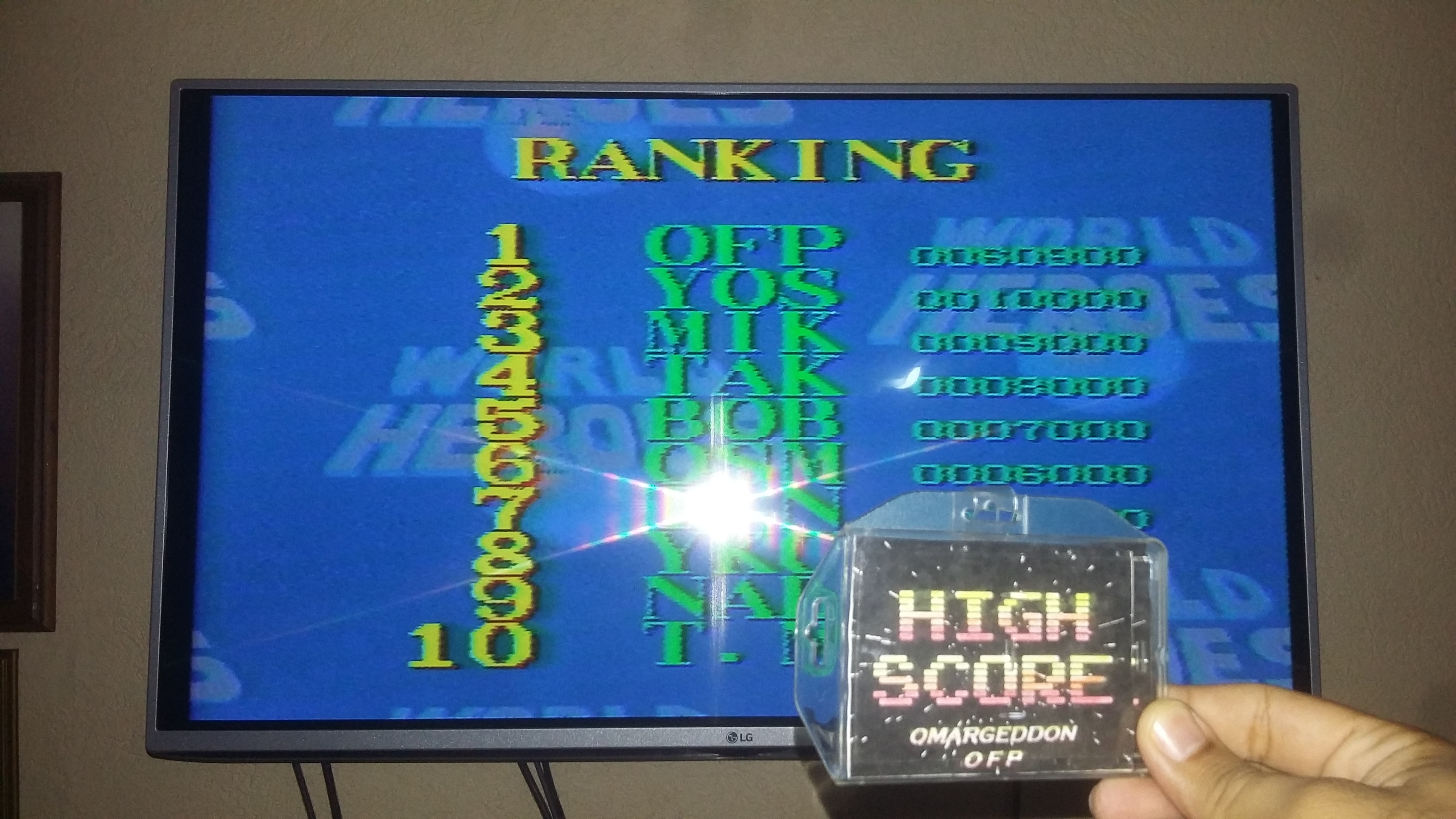 omargeddon: World Heroes [Difficulty Level 5] (SNES/Super Famicom) 60,900 points on 2018-05-20 17:11:04