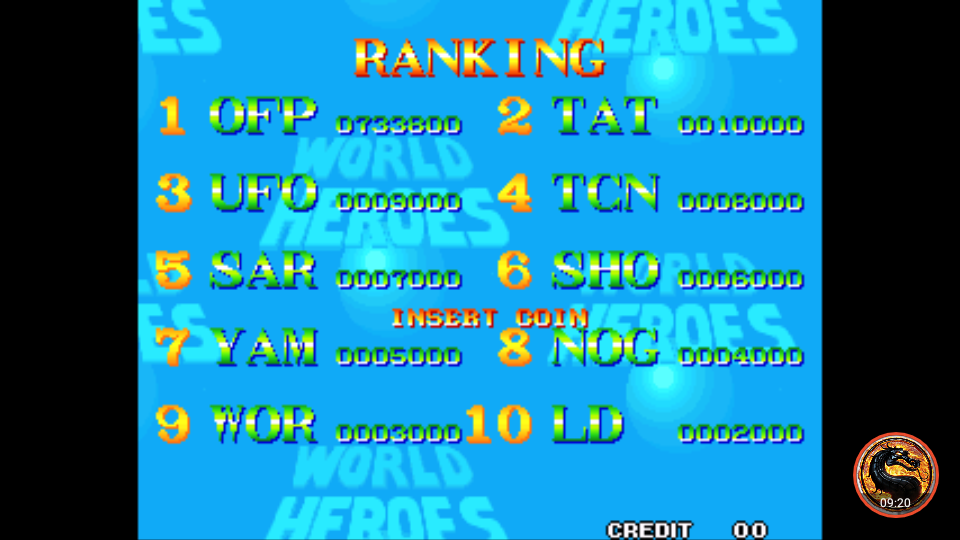 omargeddon: World Heroes (Neo Geo Emulated) 733,800 points on 2019-11-13 23:40:26