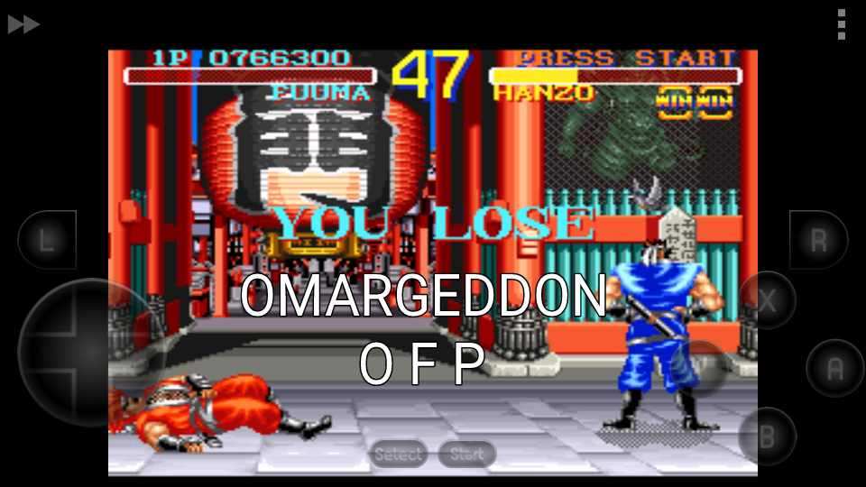 omargeddon: World Heroes [Normal Difficulty] (SNES/Super Famicom Emulated) 766,300 points on 2016-12-02 23:58:58