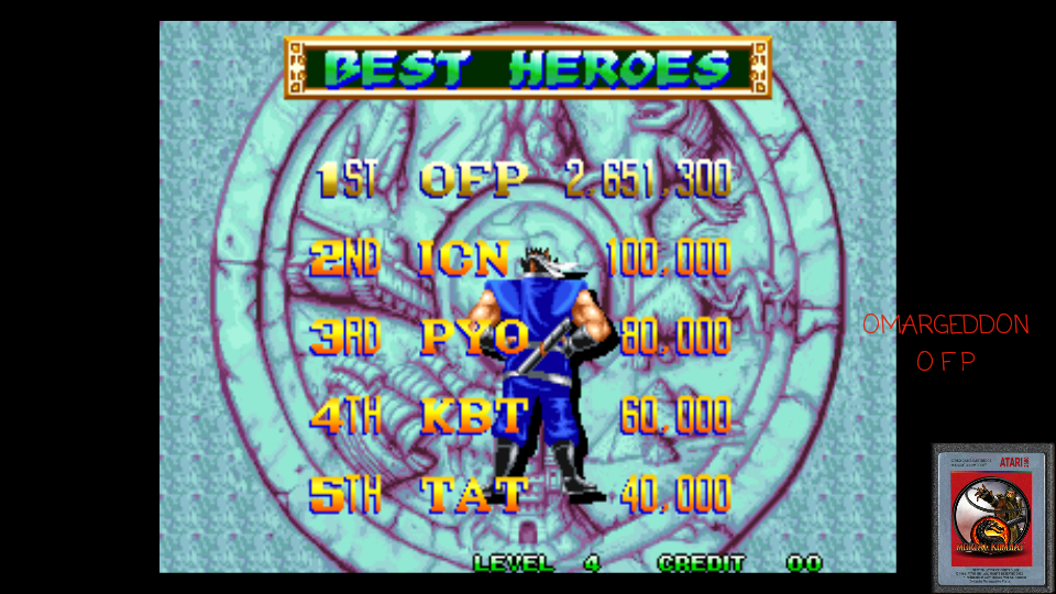 omargeddon: World Heroes Perfect (Neo Geo Emulated) 2,651,300 points on 2017-04-29 09:29:37