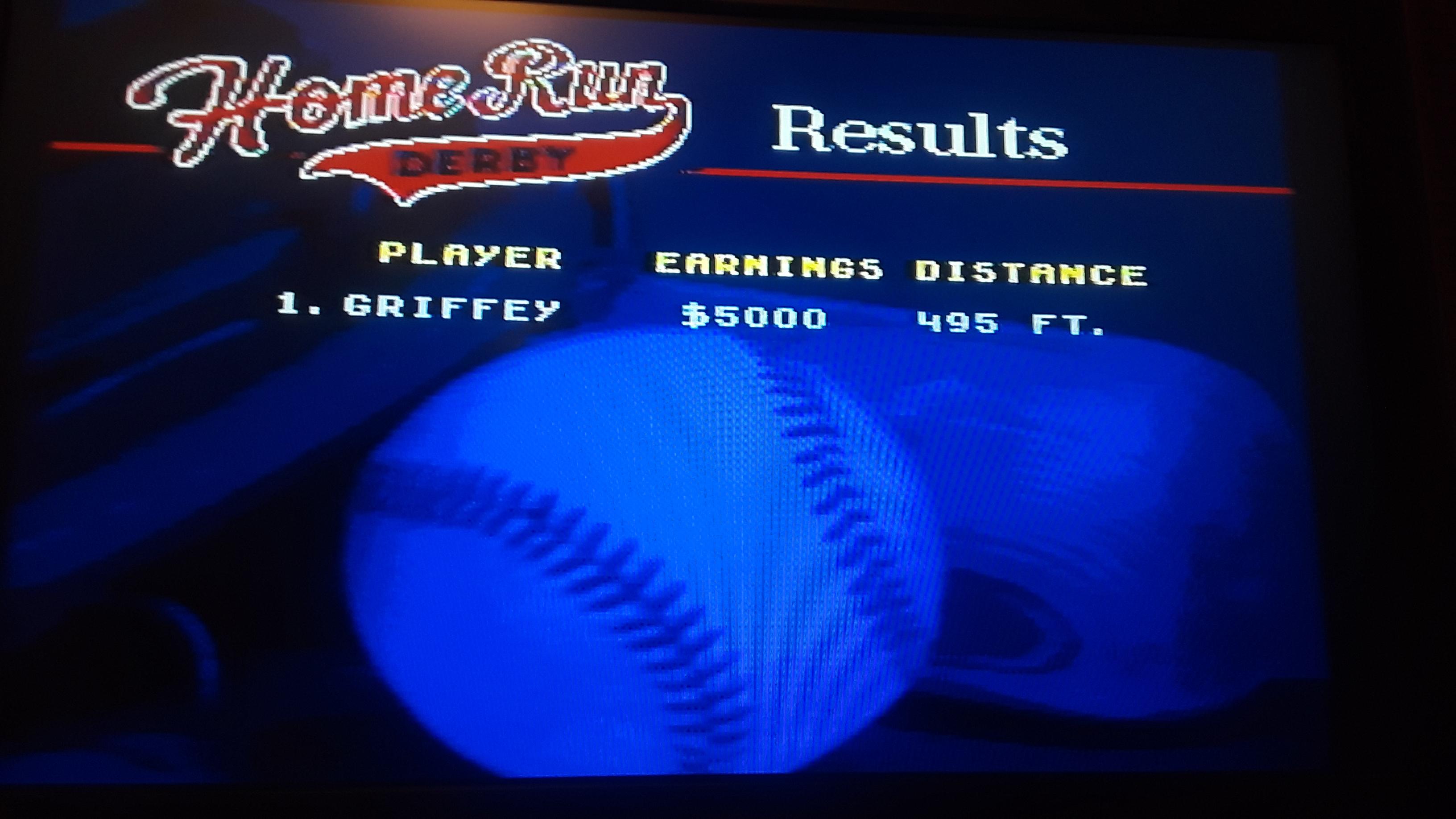 World Series Baseball: Home Run Derby 5 points