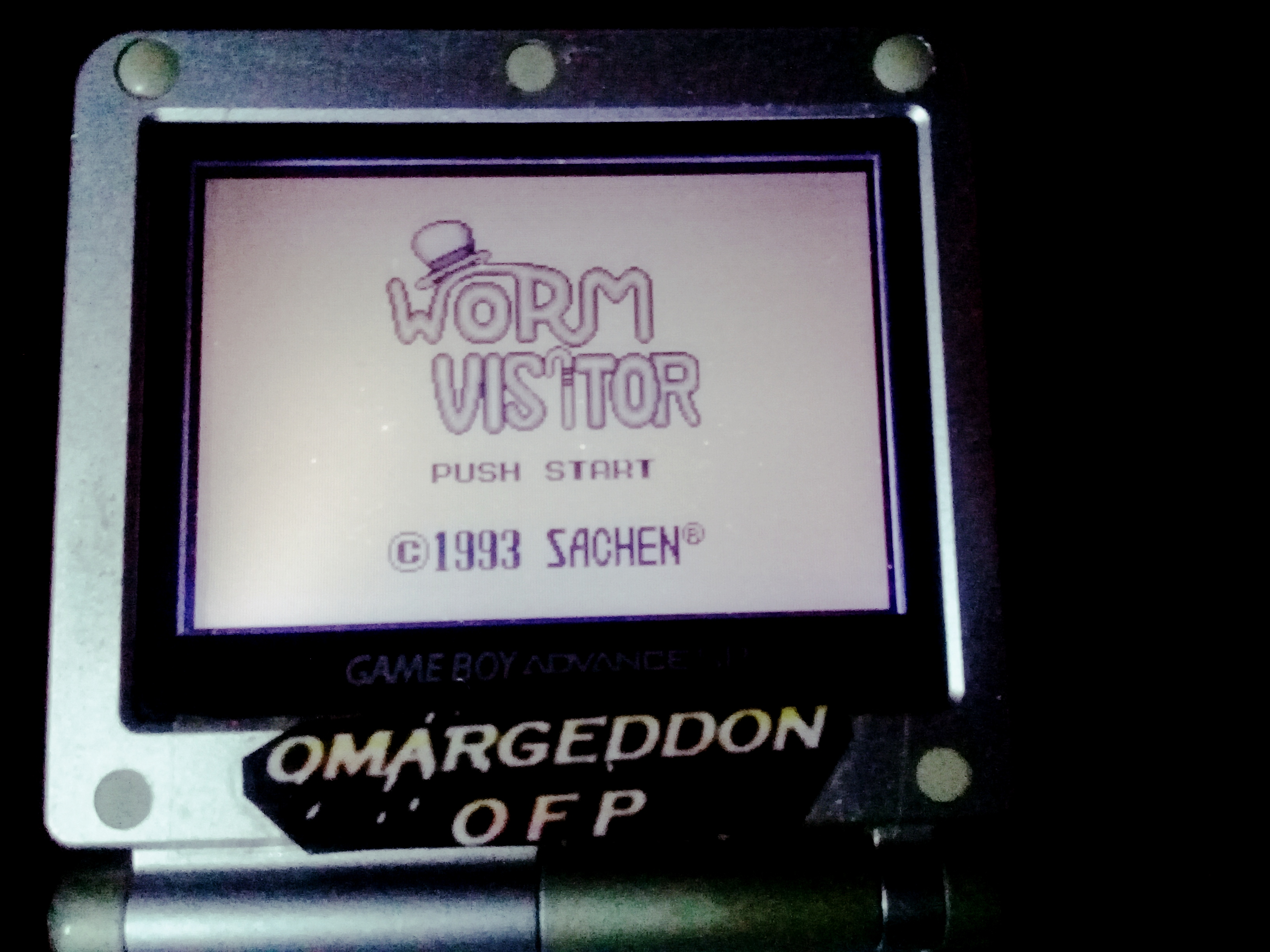omargeddon: Worm Visitor (Game Boy) 8,370 points on 2019-11-17 11:27:09