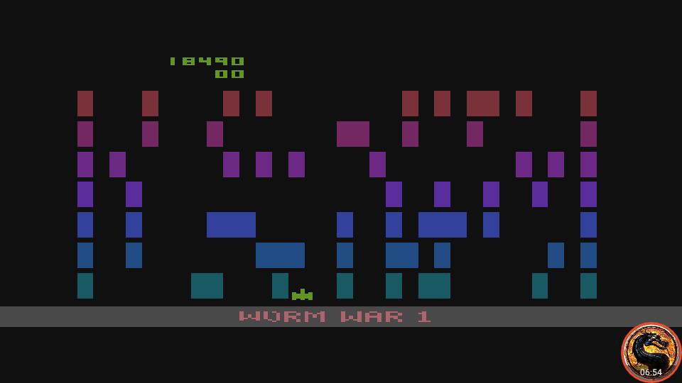 omargeddon: Worm War I (Atari 400/800/XL/XE Emulated) 18,490 points on 2019-02-19 15:35:53
