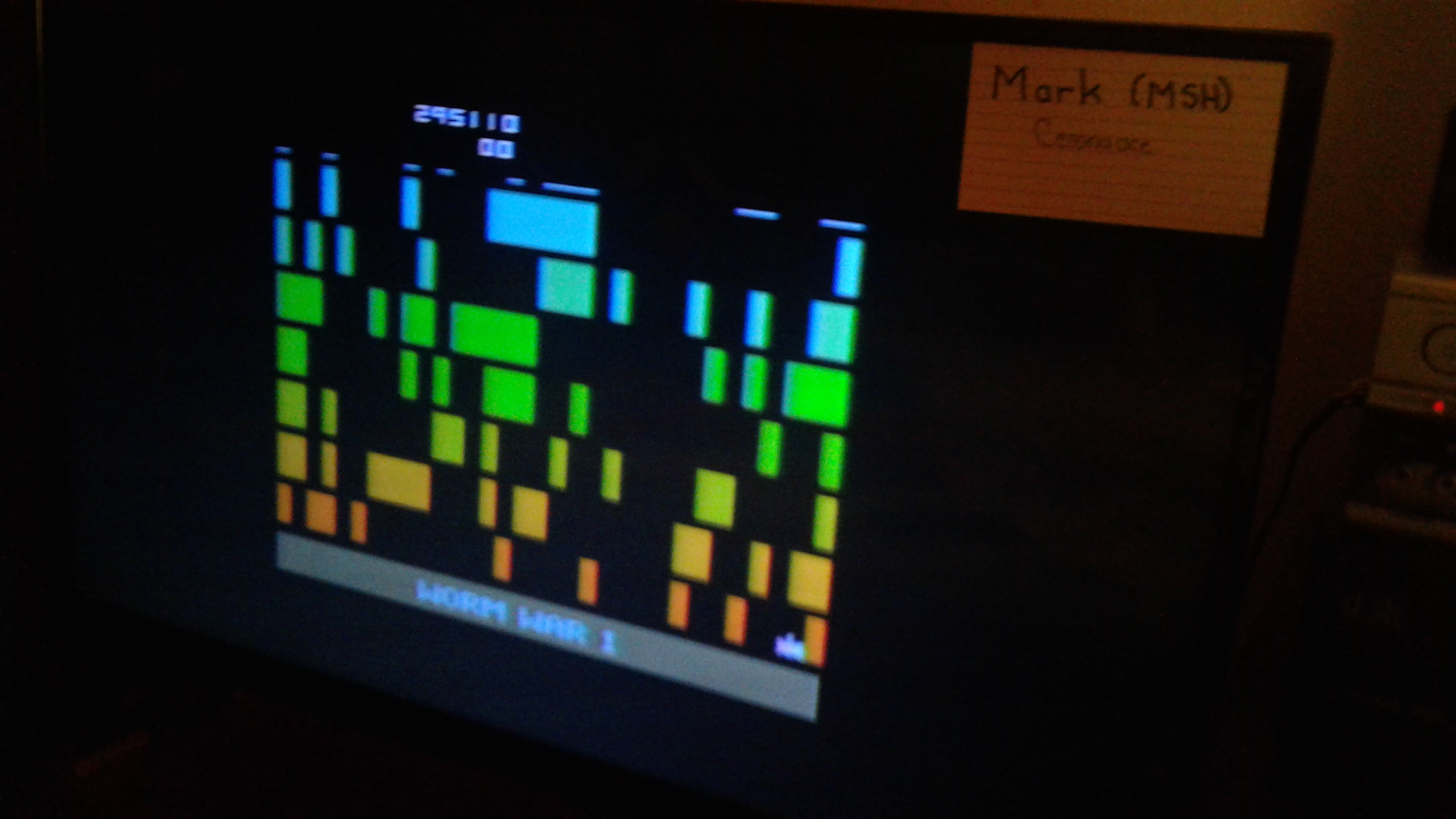 Mark: Worm War I: Game 3 (Atari 2600 Novice/B) 295,110 points on 2019-04-12 02:40:49
