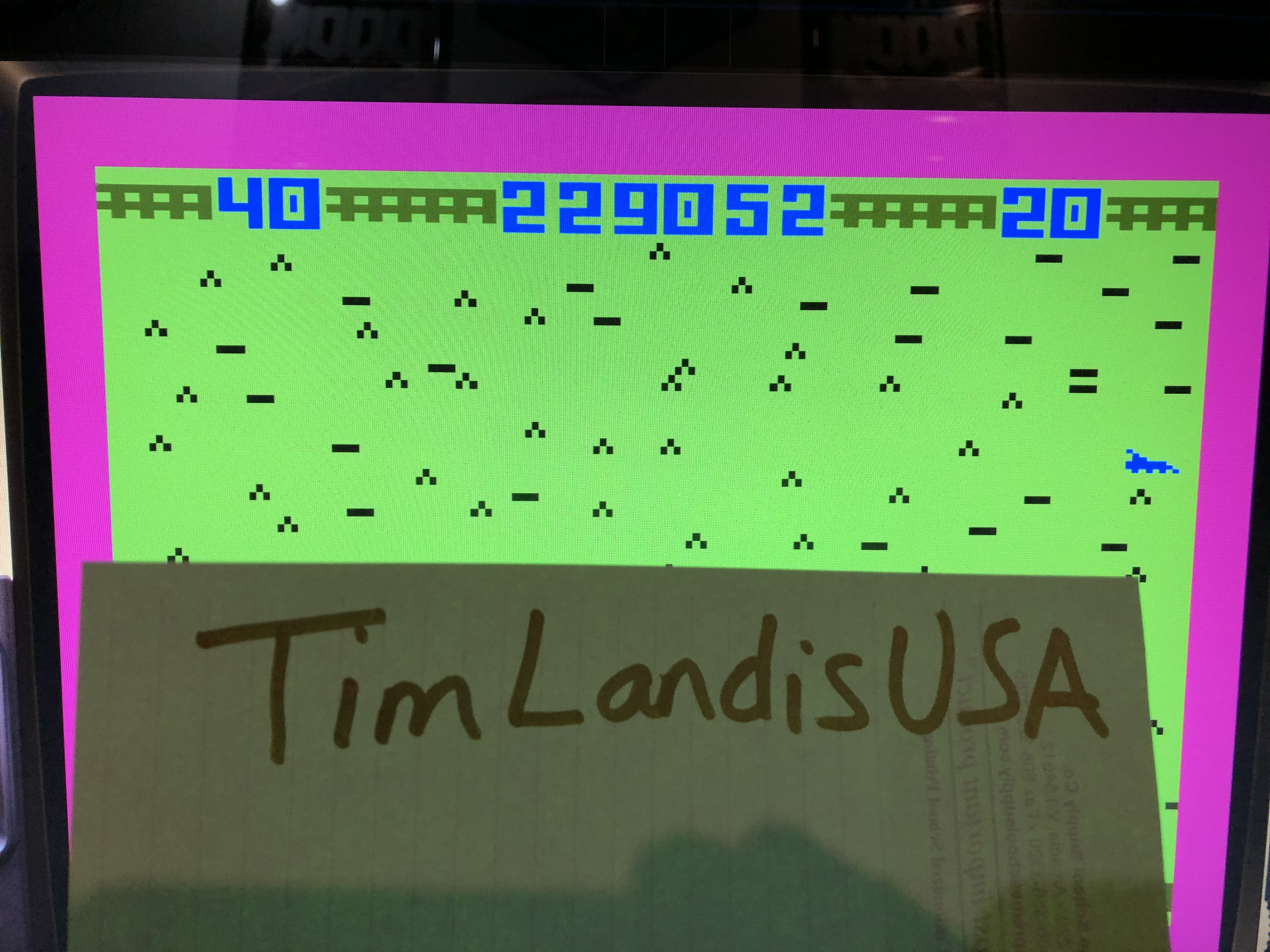 TimLandisUSA: Worm Whomper (Intellivision Emulated) 229,052 points on 2021-01-26 20:20:05