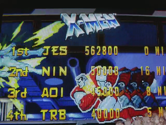 JES: X-Men: Children of the Atom [xmcota] (Arcade Emulated / M.A.M.E.) 562,800 points on 2017-11-21 23:44:19