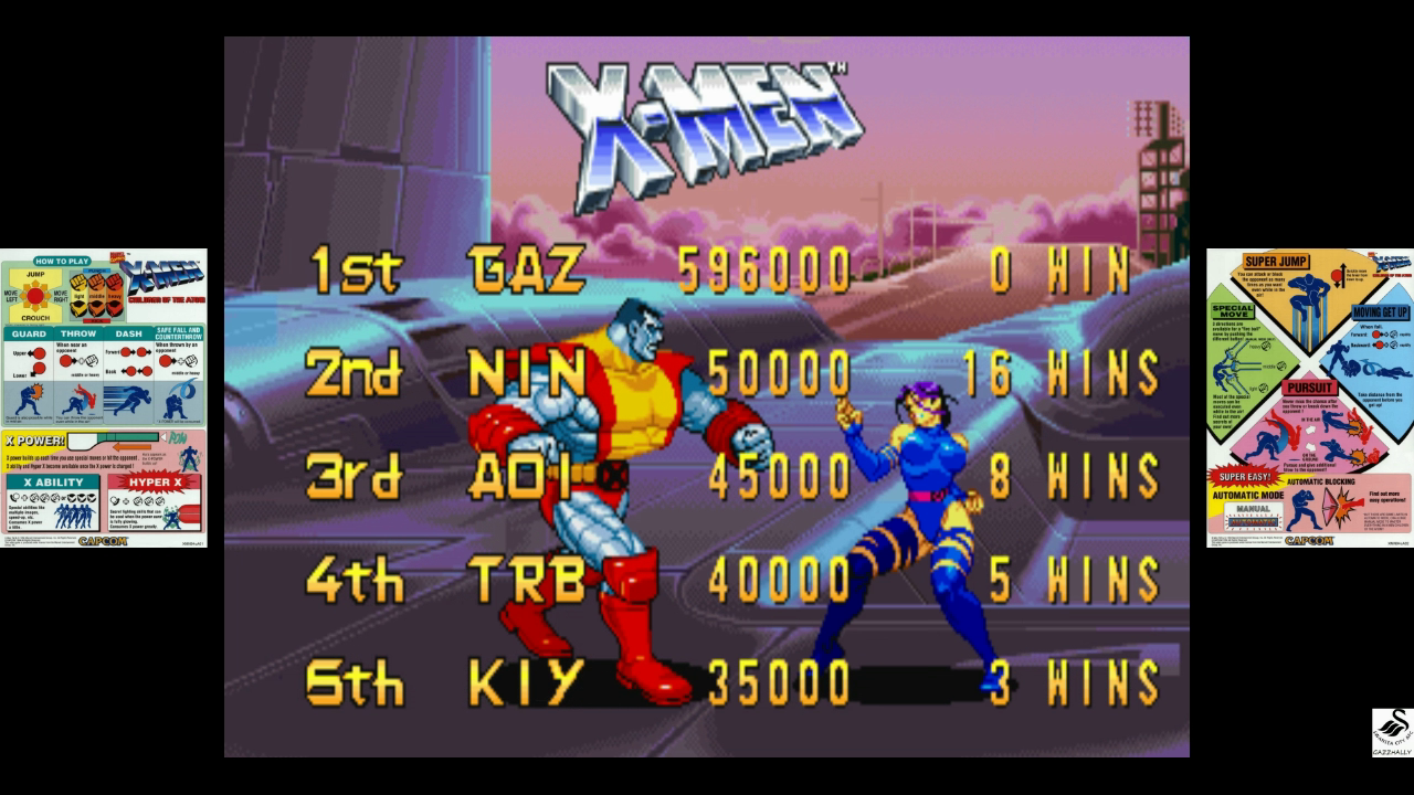 X-Men: Children of the Atom [xmcota] 596,000 points