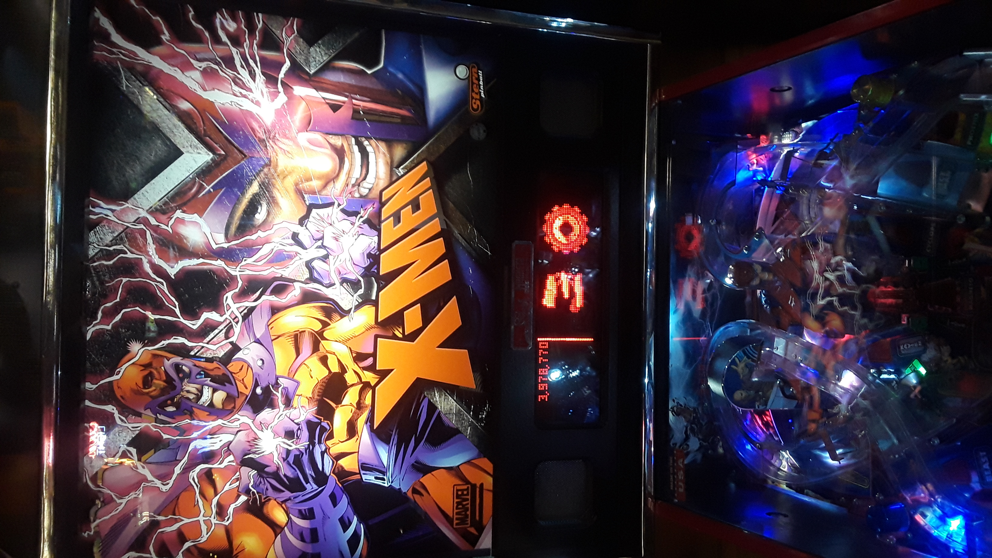 JML101582: X-Men Pro (Pinball: 3 Balls) 3,978,770 points on 2019-12-07 17:16:14