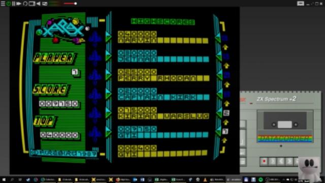 GTibel: Xarax (ZX Spectrum Emulated) 7,150 points on 2019-01-12 02:48:28