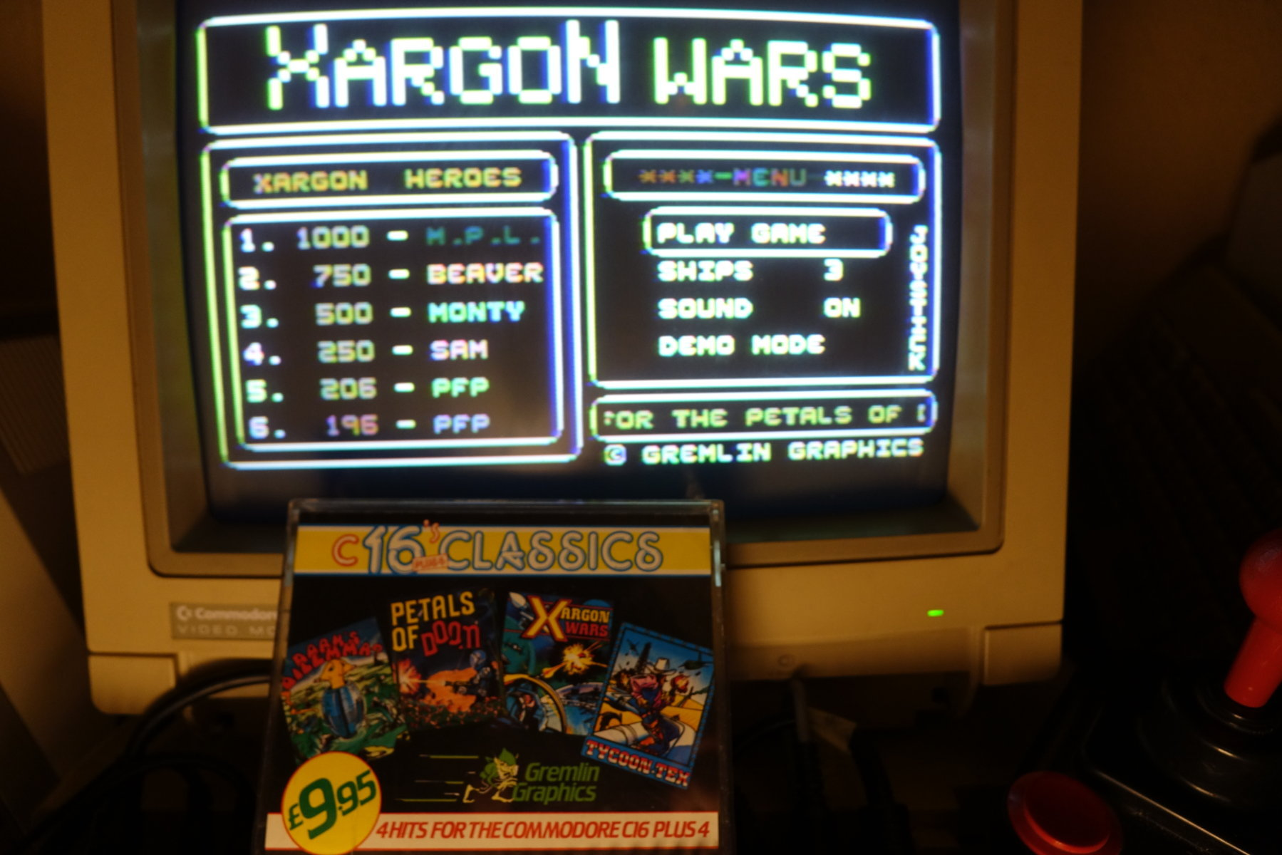 Xargon Wars 206 points