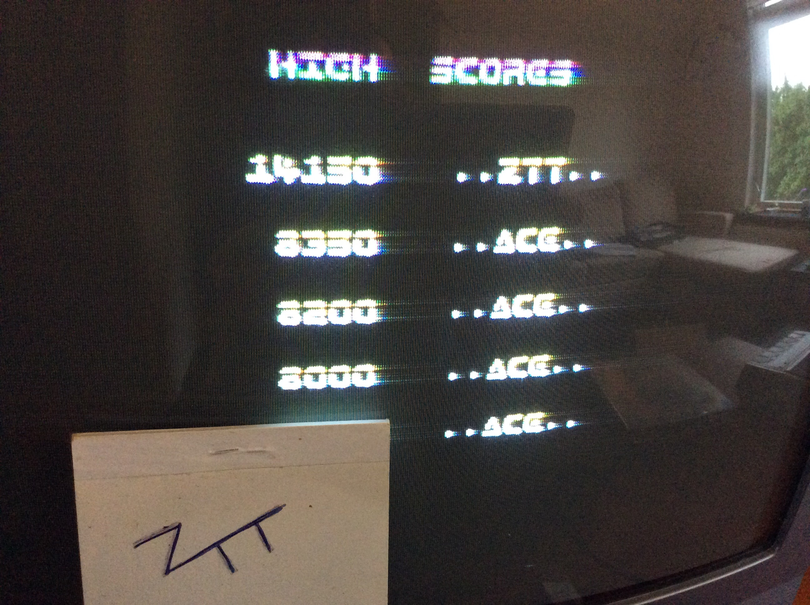 Frankie: Xecutor (ZX Spectrum) 14,150 points on 2016-08-06 02:53:24