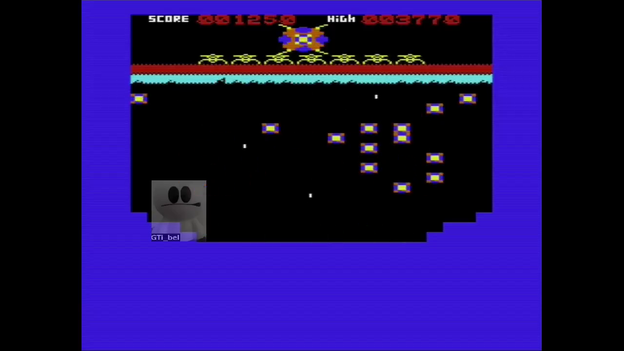 GTibel: Xeno II (Commodore VIC-20 Emulated) 1,250 points on 2017-05-28 04:19:46