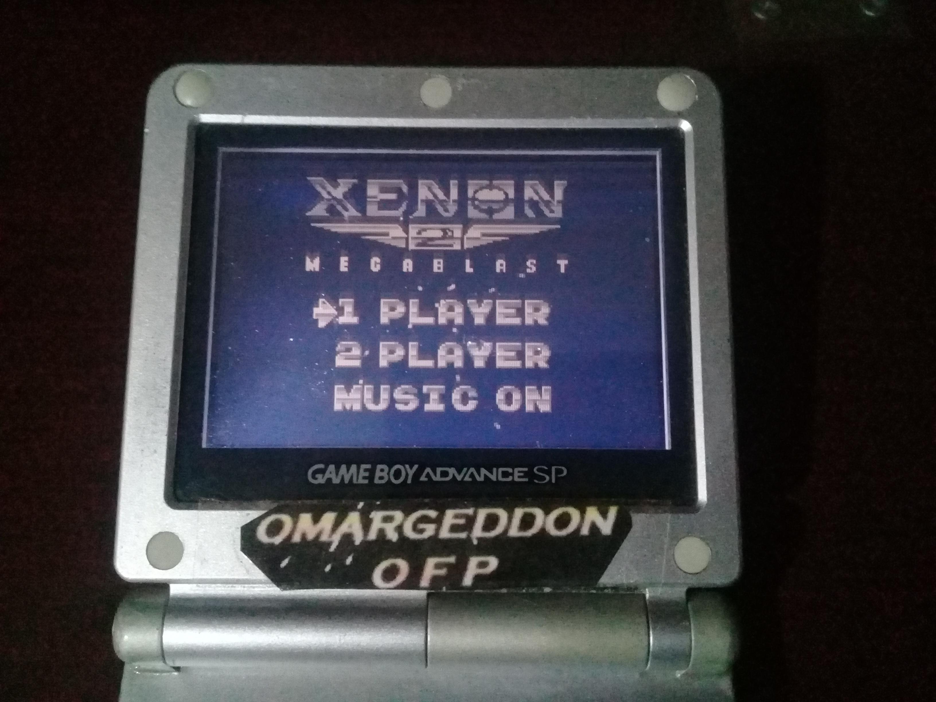 omargeddon: Xenon 2: Megablast (Game Boy) 34,400 points on 2019-04-16 22:06:21