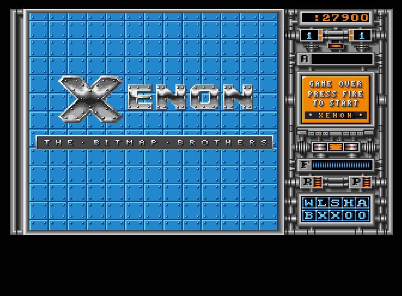 Mantalow: Xenon (Amiga Emulated) 27,900 points on 2016-09-21 10:47:58