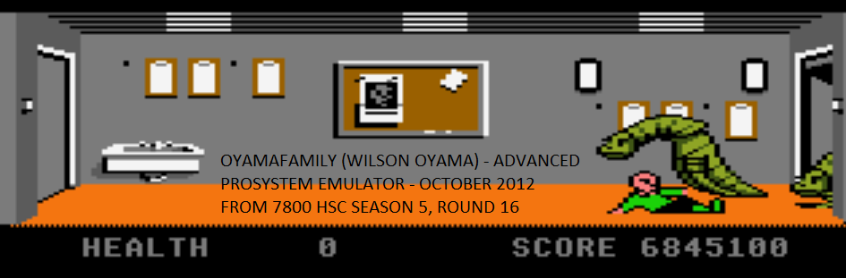 oyamafamily: Xenophobe: Advanced (Atari 7800 Emulated) 6,845,100 points on 2015-11-22 09:52:23