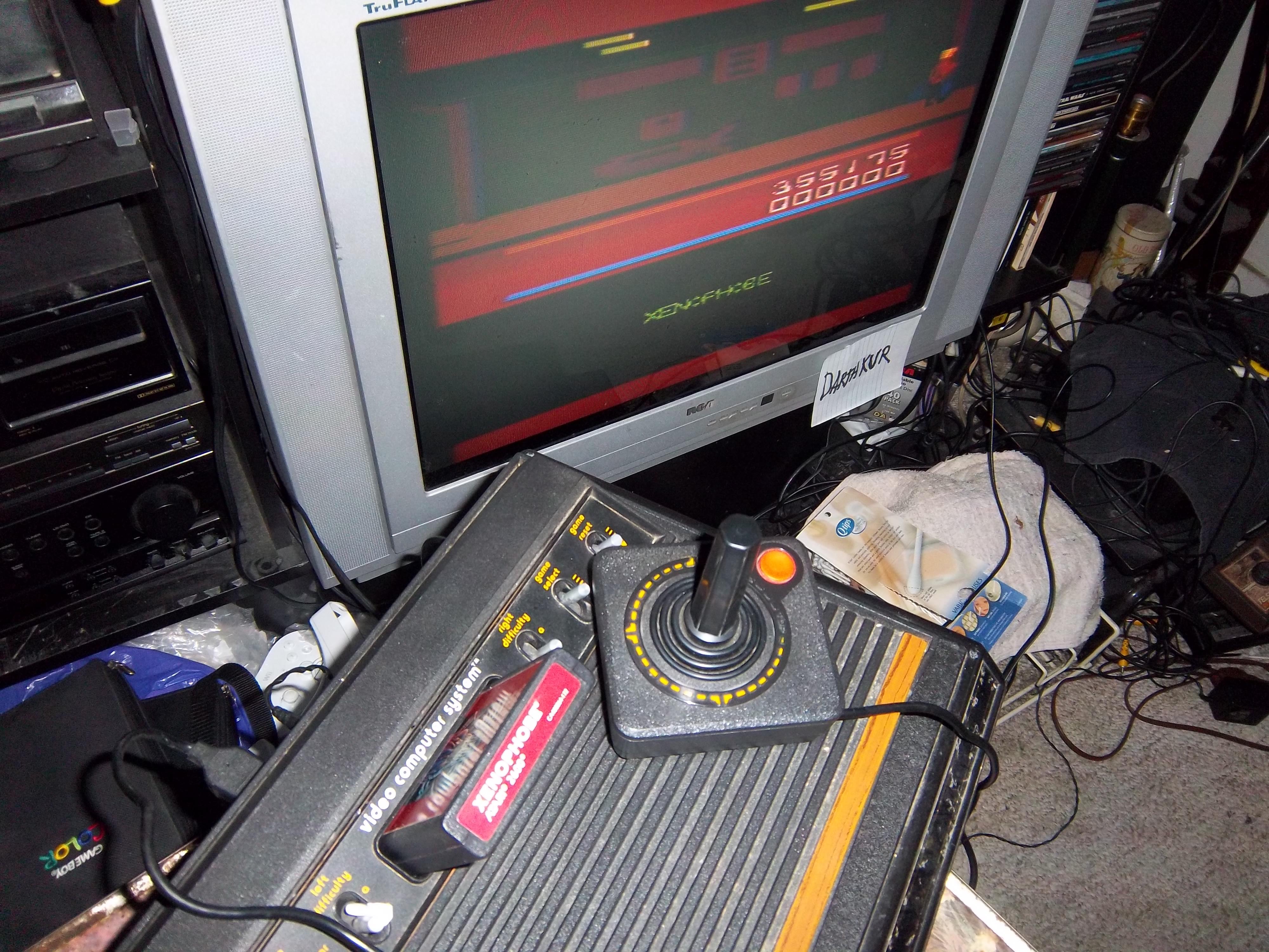 darthkur: Xenophobe (Atari 2600 Novice/B) 355,175 points on 2016-03-13 14:18:09