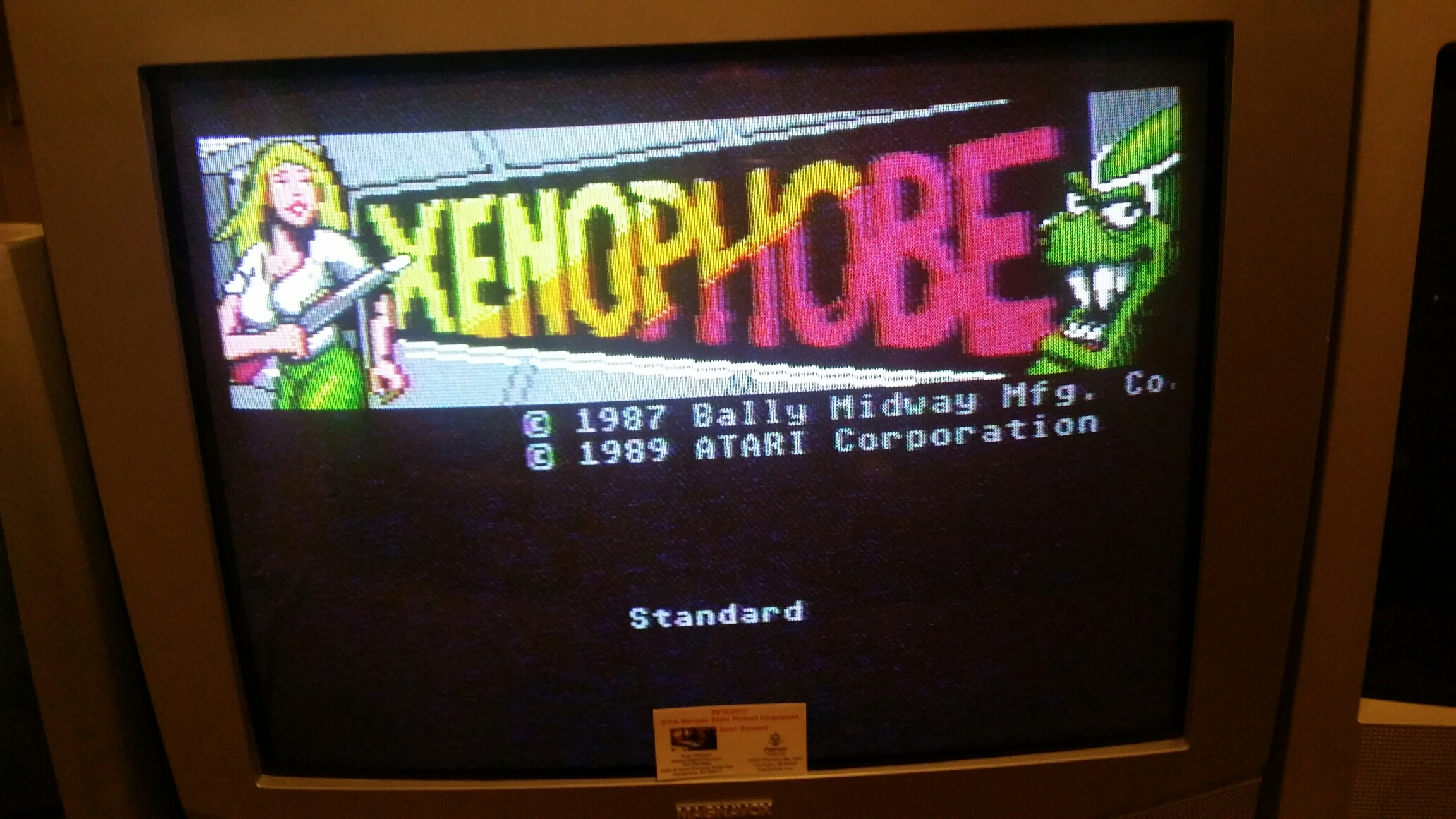 Xenophobe: Standard 79,235 points