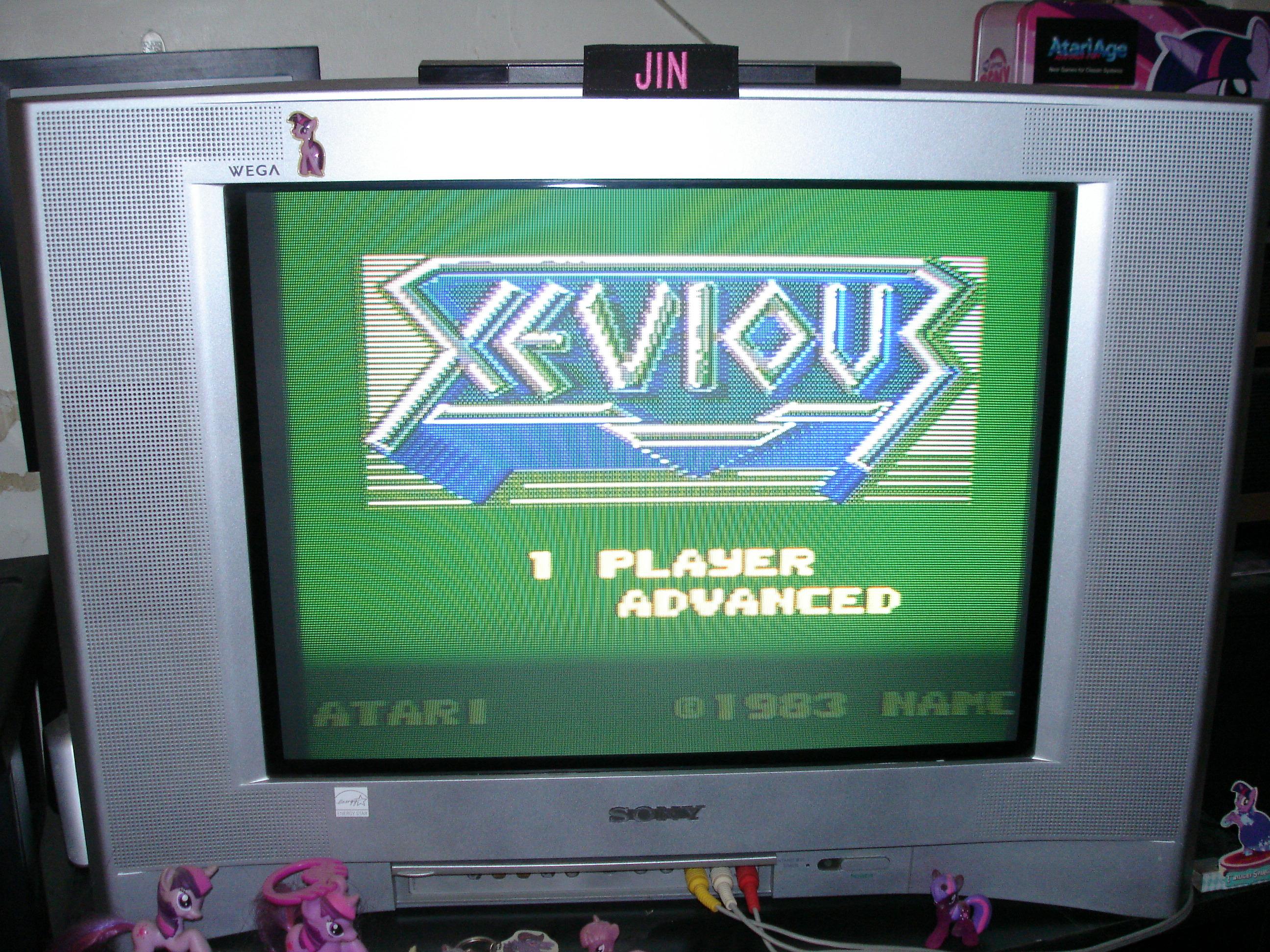 Xevious: Advanced 211,300 points