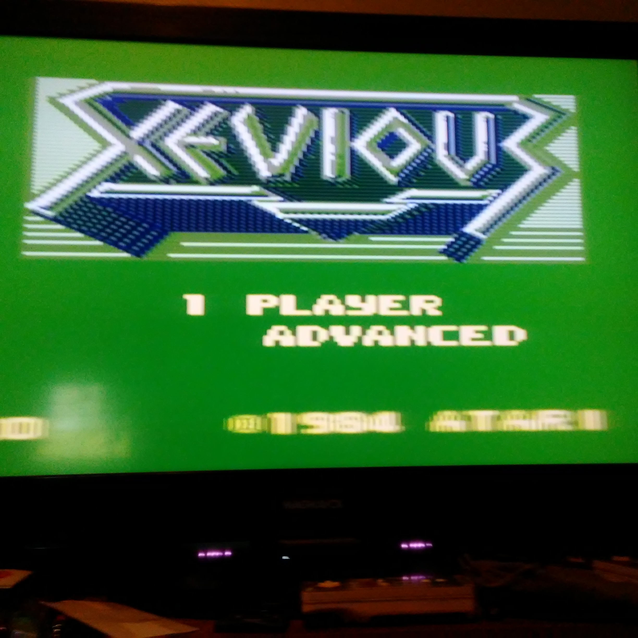 Pjsteele: Xevious: Advanced (Atari 7800 Emulated) 24,160 points on 2017-10-18 16:02:11