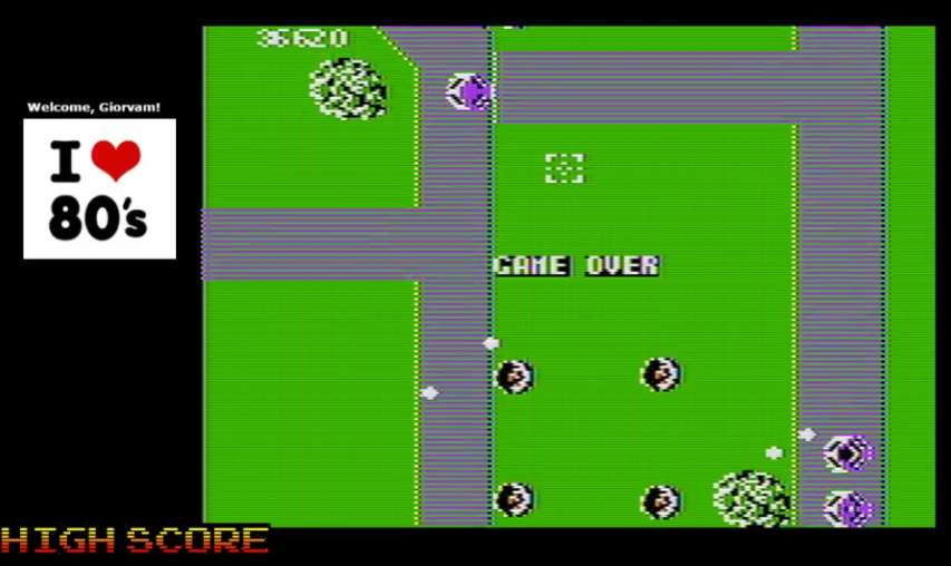 Giorvam: Xevious (Apple II Emulated) 36,620 points on 2016-12-12 13:54:17