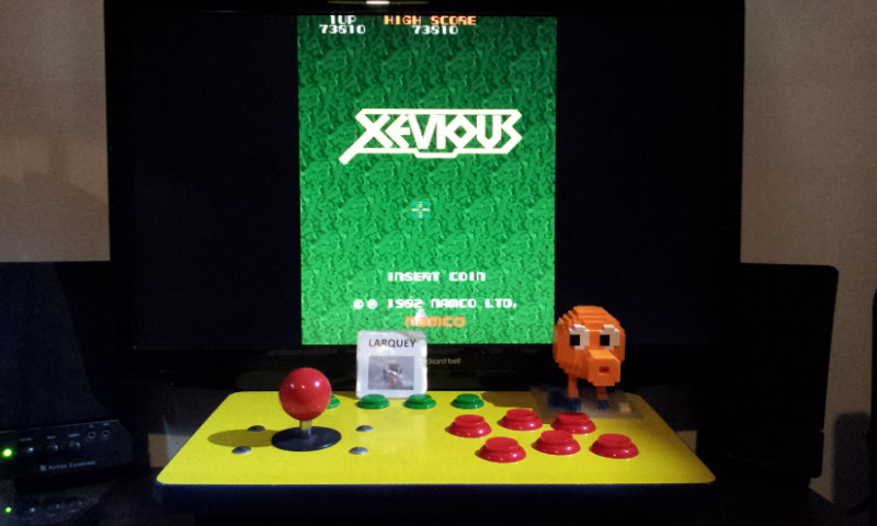 Xevious 73,810 points