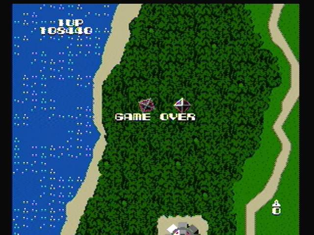 Xevious [Arcade] 108,440 points