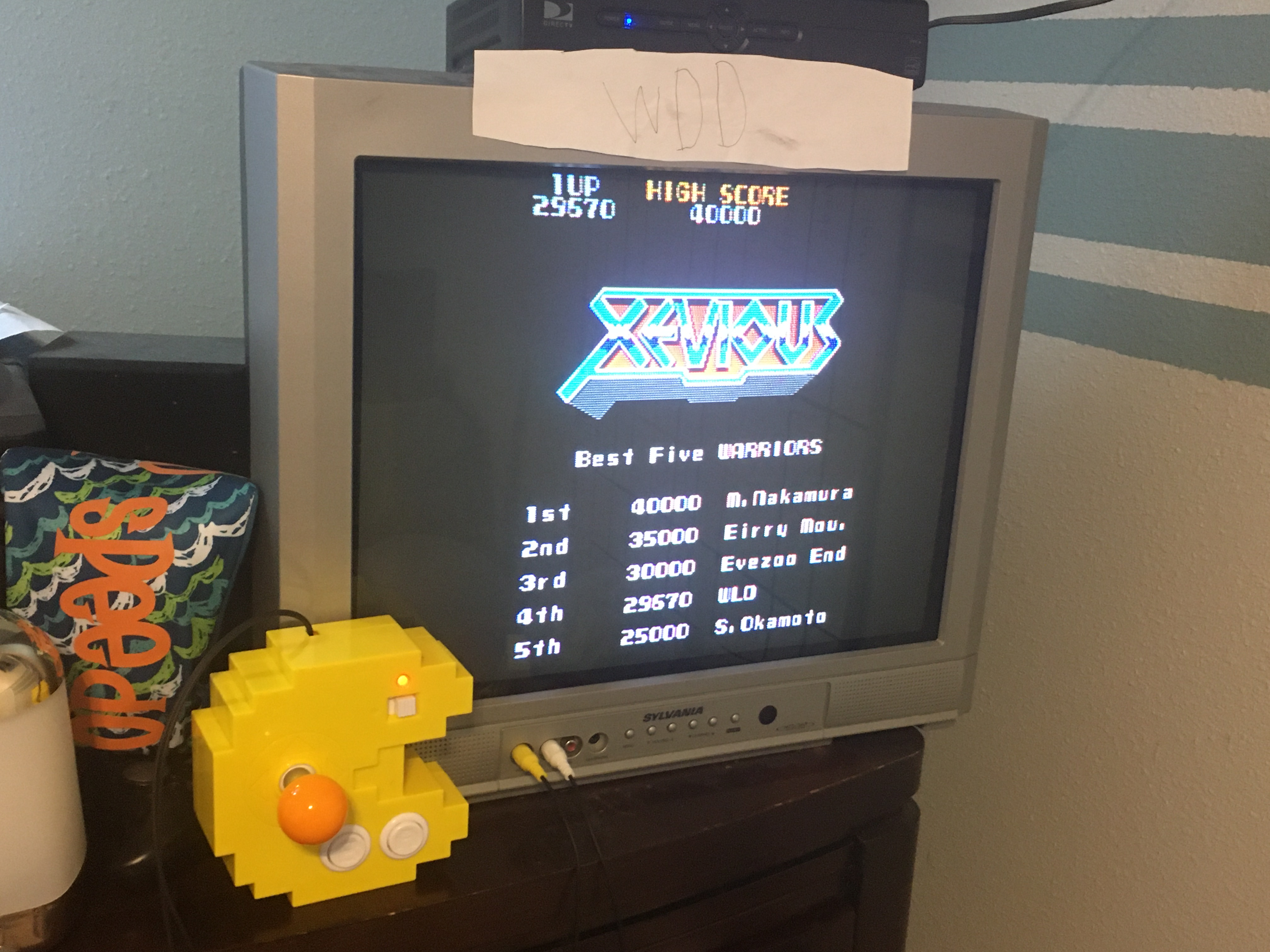 WDD: Xevious (Bandai Pac-Man Connect and Play) 29,670 points on 2020-06-09 11:29:20
