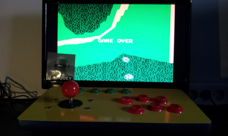 Larquey: Xevious (GBA Emulated) 42,270 points on 2017-05-25 01:22:36