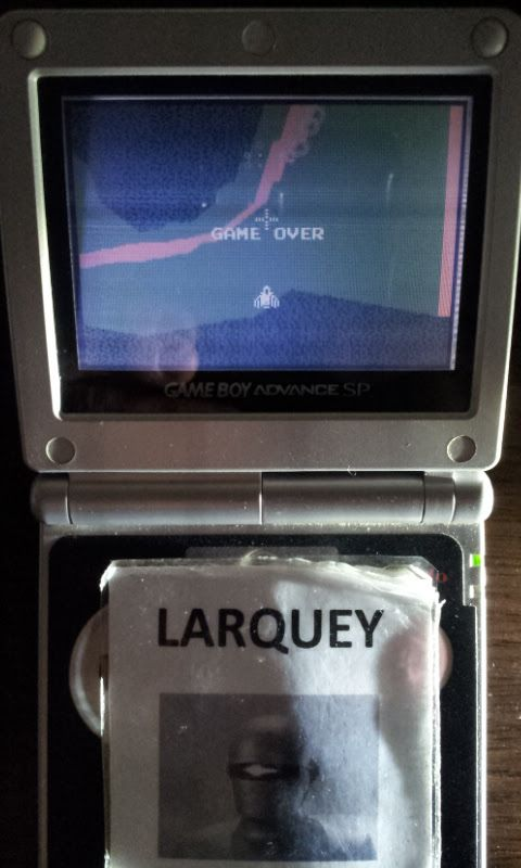Larquey: Xevious (GBA) 34,640 points on 2017-06-05 03:26:55